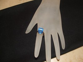 COLLECTIBLE vintage1970's merlite ring large 10... - $34.64