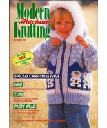 Modern Machine Knitting Dec 1989 Magazine Father Christmas Special Holid... - $7.12