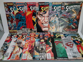 SUPERMAN: REIGN OF THE SUPERMAN - 16 BOOKS - FREE SHIPPING - $18.70