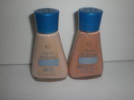 Covergirl Oil Control Clean Liquid Foundation Makeup Original Bottle Pick Color - $15.85+