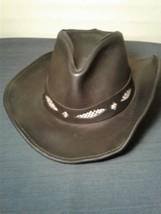 Henschel Hat HH Mens L Black Safari Outback (mlrc3) - $28.04