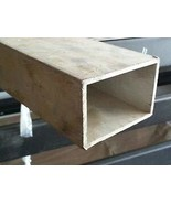 "JumpingBolt 3"" Aluminum Square Tube 6063 T5 .125"" Wall x 24"" Material Ma... - $71.07"