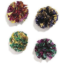 Ethical Assorted Mylar Balls 1.5 Inch/4 Pack - $20.41 CAD
