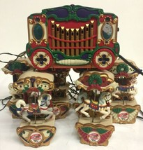 Vintage Mr Christmas Holiday Carousel 1992 Sold as parts not working READ - $32.71