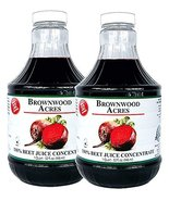 Beet Juice Concentrate by Brownwood Acres/FruitFast (64 Ounce) - $57.95