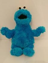 """Gund 13"""" Sesame Street Cookie Monster. Tummy Rattles 2007  - $13.86"""