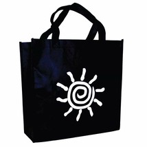100 ct Polypropylene Grocery Tote Bag Black Shopping Bags Large/Wide - $218.31+