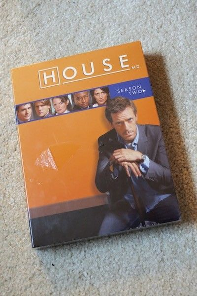 House:  Unopened the Complete Season Two of House