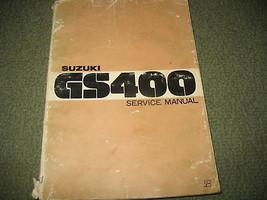 1977 77 Suzuki GS400 Gs 400 Shop Repair Service Manual - $18.13