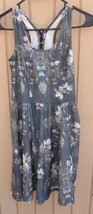 JESSICA SIMPSON LACE BACK DRESS SIZE SMALL FLORAL JUNIORS - $3.99