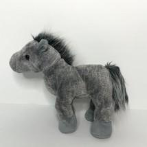 "Ganz Webkinz Grey Arabian Horse HM098 Plush Animal No Code 10"" Long  - $24.63"