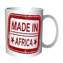Made In Africa Funny Stamp Vintage  11oz Mug f464 - $14.08 CAD
