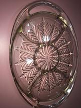 Christmas Serving Glass Platter - $19.24