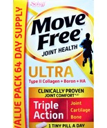 Schiff  Move Free ULTRA  Triple Action  JOINT HEALTH  64 count VALUE PACK - $19.99
