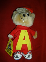 ALVIN & THE CHIPMUNKS plush+action figure+Wii video game+Simon beanie baby - $13.00