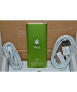 Apple iPod Nano 4th generation 16gb Green MB913LL/A MP3 Media Player New... - $237.49