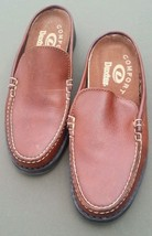 Dexter Clogs Slip-on Brown Leather Open Back Loafers Womens Shoes Slides 6.5 M - $37.05