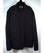 Massif Mens Black Nylon Field Coat XL  - $118.80