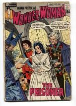 WONDER WOMAN #194 1971-wedding cover-DC BRONZE AGE-comic book - $22.35
