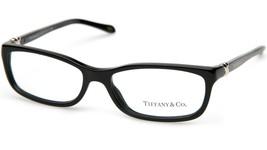 New Tiffany & Co. Tf 2036 8001 Black Eyeglasses Frame 52-15-135 B28 Italy - $143.54