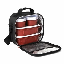 Bag Thermal For Food Holders Food With 4 Foodstore Hermetic Items New - $200.04