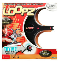 Brand New LOOPZ Electronic Memory Game Ages 7 & Up 1 - 4 Players Mattel !!! - $21.49