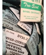 Lot of DIVER TITE Waterproof Watch Crystals (100'S OF THEM) - $269.95