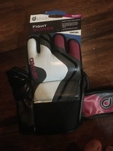 Century Drive Fight Gloves Why/maroon/grey (Women) Large New - $31.66
