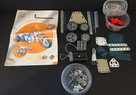 Meccano Design 3 Erector Set Model 6700 Motor Wheels Instructions - $22.44