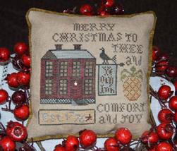 Comfort and Joy christmas cross stitch chart Abby Rose Designs  - $9.90