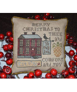 Comfort and Joy christmas cross stitch chart Abby Rose Designs  - $9.90