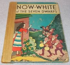 Snow white and the Seven Dwarfs 1937 Rand McNally Children's Book - $9.95