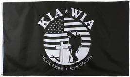 KIA-WIA All Gave Some Some Gave All Korean War 3' x 5' Flag - $9.99