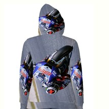 Jorge Lorenzo Racer   Hoodie Fullprint for women - $40.99+