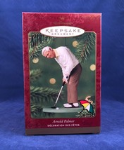 Arnold Palmer Golf Pro 2000 Hallmark Ornament Putting Golfing PGA Hall o... - $26.17