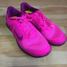 Nike Womens LiveStrong Sneakers Pink Purple Lace Up Athletic Shoe US 11/... - $33.37