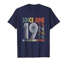 Brother Shirts - Born in June 1974 44th Birthday Vintage Gift 44 years o... - $19.95+