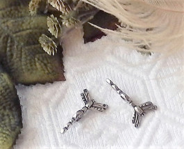 Sterling Silver Large Hole Dragonfly Bead Spacer Spinner Set - $15.99