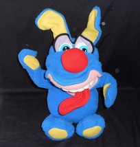 VINTAGE 1987 FISHER PRICE 2309 FUNNY FREDDY BLUE STUFFED ANIMAL PLUSH TO... - $52.41
