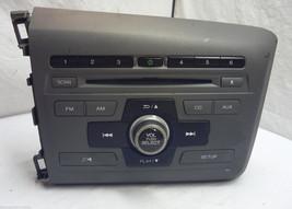 2012 12 Honda Civic Radio Cd Player  39100-TR0-A315 2BC6 S02276 - $20.79