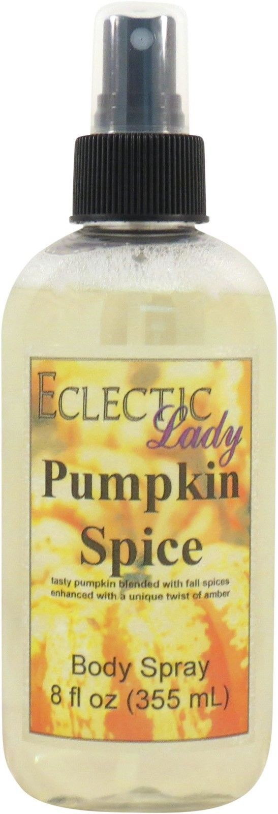 Pumpkin Spice Body Spray