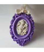 Aroma Stone Wall Plaque - Handmade - Iris - $29.70