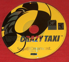 1999 Sega Dreamcast Crazy Taxi Video Game Disc Only Works Tested - $26.73 CAD
