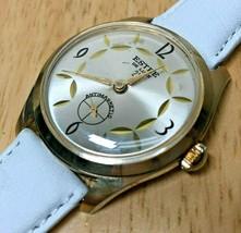 Vintage ESTEE De Luxe 21 Men Small Second Hand Winding Mechanical Watch~... - $26.59