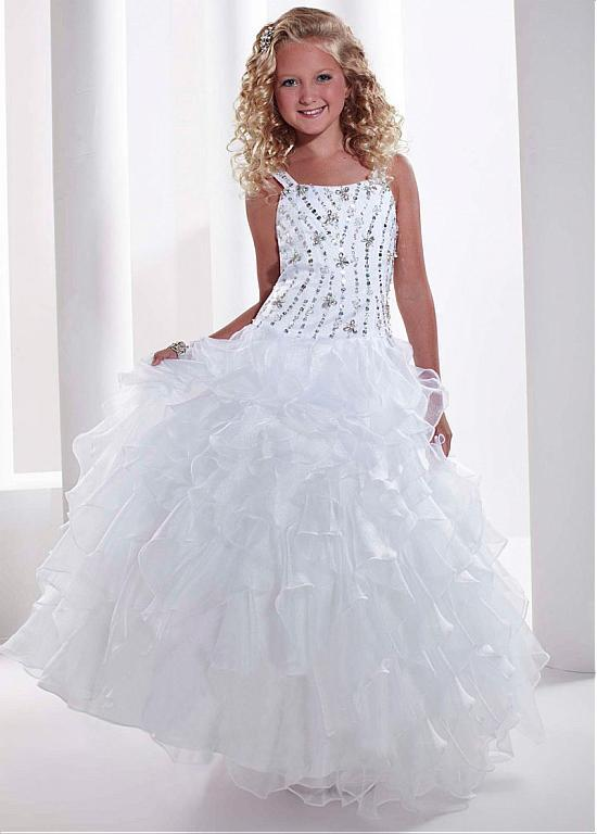Primary image for Unique Organza Floor-length Ball Gown Girls'Ocassion Dress