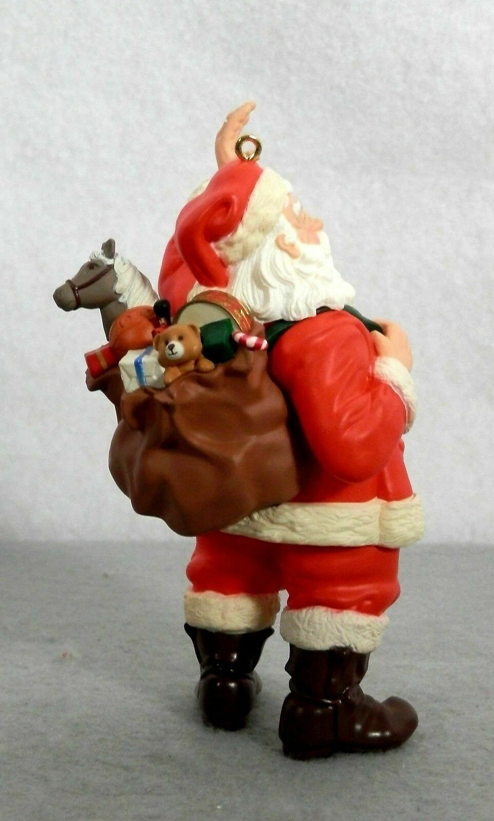 Hallmark Keepsake Ornament Merry Olde Santa Series 10th Final Christmas 1999 New image 4