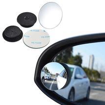 Degree Universal Blind Spot Mirror For Car Frameless Ultrathin Convex Re... - $4.90