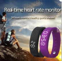 H5S Outdoor Smart Bracelet 3D Pedometer Heart Rate Monitor Sport Wristband - $25.00
