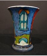 Bulgarian Artist Danko Wheel Thrown Ceramic Art Mug - $19.99
