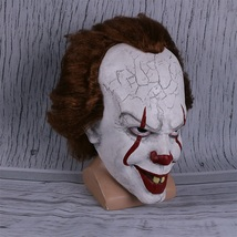 Movie Stephen King's It Mask Pennywise Horror Clown Joker Mask Handmade - £26.31 GBP